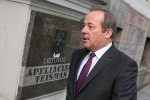 Buvęs Vilniaus vicemeras nuo kaltinimų dėl korupcijos neišsisuko