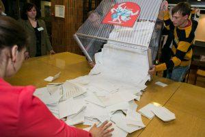 Būsimos koalicijos sudėtį gali lemti tai, kas bus greitesnis rinkimų naktį