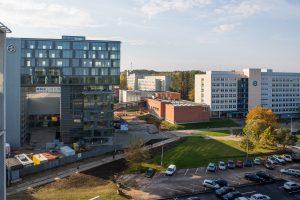 Lietuvos universitetų turto išlaikymo išlaidos – vienos didžiausių Europoje