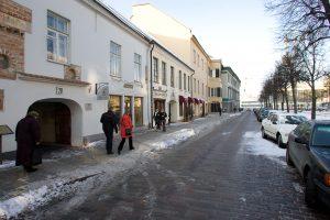 Viešoje paskaitoje – Vokiečių gatvės istorija