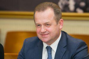 Seimo pirmininkas mano, kad dėl A. Skardžiaus būtinas parlamentinis tyrimas