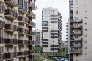 Dešimtadalis lietuvių gyvena nuomojamame būste