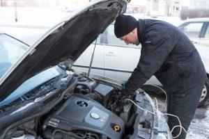 Ruošiame automobilį žiemai: ko reikia, kad galėtumėte būti ramūs