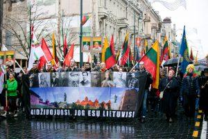 """Tautininkai Kovo 11-ąją žygiuos skanduodami """"Lietuva lietuviams"""""""