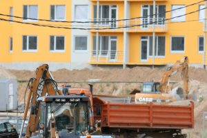 Statybos apimčių nuosmukis Lietuvoje – vienas didžiausių ES