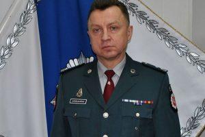 Alytaus policijai vadovaus A. Jurgelevičius