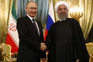 Iranas ir Rusija sutvirtino ryšius