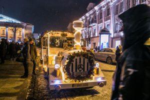 Kalėdų traukinukas nuo šiol kursuos dviem maršrutais