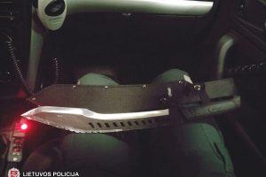 Vilniaus oro uoste sulaikytas jaunuolis su mačete