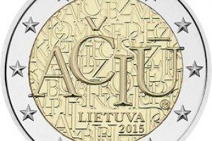 Lietuvos bankas išleidžia lietuvių kalbai skirtą monetą
