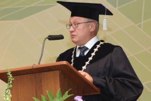 Traukiasi nuo įkūrimo Vilniaus kolegijai vadovavęs G. Bražiūnas