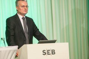 G. Nausėda baigia darbą SEB banke