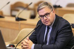 Lietuvos banko vadovas: apie krizę kalbėti tikrai negalima
