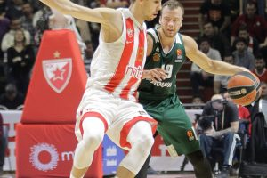 "L. Lekavičius rungtynėse su ""Crvena Zvezda"" pelnė šešis taškus"
