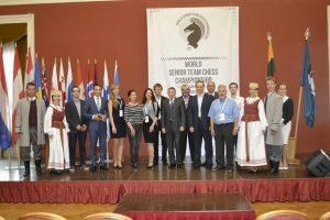 Vilniuje prasidėjo Pasaulio senjorų komandinis šachmatų čempionatas
