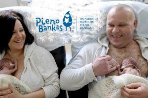 Dovana mamoms – Donorinio motinos pieno bankas