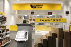Modernėja: atsinaujino Vilniaus Pilaitės paštas