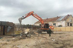 Prasidėjo Kalvarijų turgaus lauko prekybos zonos rekonstrukcija