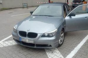 Italijoje vogtas BMW kelionę baigė Lietuvos pasienyje