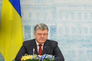 Vilniuje viešėjęs P. Porošenka: M. Saakašvilio rankos suteptos krauju