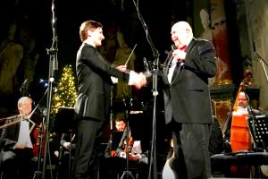 D. Katkus perleido Šv. Kristoforo kamerinio orkestro dirigento batutą