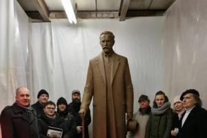 Vilniuje gaminamas paminklas prezidentui A. Smetonai