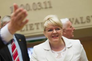 Po medikų pasipiktinimo buvusi ministrė antikorupcijos mokymų nebeves