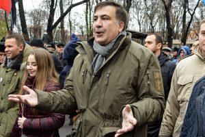 Kijeve vėl sulaikytas M. Saakašvilis