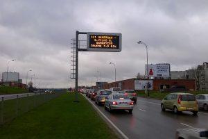 Laikinai bus išjungtos vairuotojų informavimo švieslentės