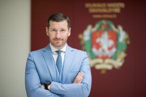 """""""Vilniaus vandenims"""" vadovaus M. Švaikauskas"""