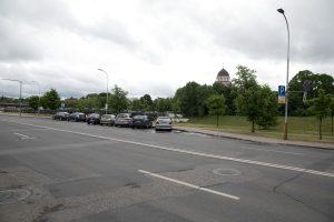 Vilniaus centre – daugiau stovėjimo vietų
