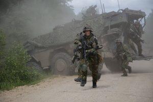 Lietuvoje prasidės NATO priešakinių pajėgų kovinės pratybos