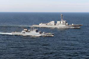 NATO stiprins karinį laivyną Juodojoje jūroje