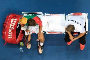 Lietuvos tenisininkai kapituliavo prieš bosnius