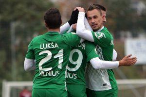 """Vilniaus """"Žalgiris"""" – ketvirtą kartą iš eilės Lietuvos futbolo čempionas"""