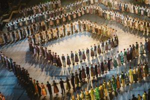 XV-oje Baltimorės lietuvių šokių šventėje – šokėjai nuo 7 iki 77 m. amžiaus