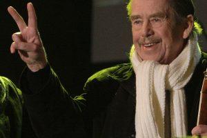 Prahoje atidaroma buvusio prezidento V. Havelo karikatūrų paroda
