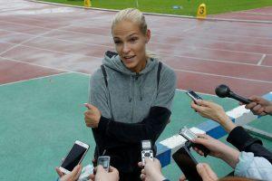 Patenkino apeliaciją: Rusijos šuolininkė į tolį dalyvaus Rio olimpiadoje