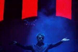 J.-M. Jarre'as surengė koncertą Negyvajai jūrai gelbėti