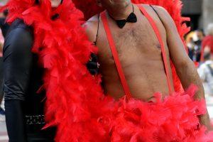 Brazilijos gėjų parade – šimtai tūkstančių žmonių