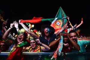 Porte gyvenanti kaunietė: šiandien portugalai neišsimiegoję, bet laimingi