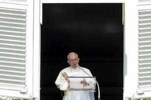 Popiežius: korupcija veikia kaip narkotikas