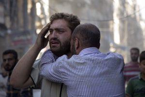 """Alepe sukilėliai """"įvykdė egzekucijas"""" 21 civiliui, tarp kurių – 5 vaikai"""