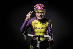 R. Marchand'as: ir sulaukęs 105-erių metų gali važiuoti dviračiu