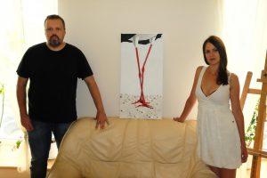 A. Užkalnis laimėjo aukcioną feisbuke – už paveikslą paklojo 2650 eurų