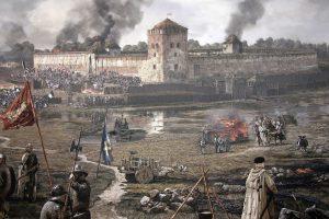 Medininkų pilyje – LDK karybos istorinės rekonstrukcijos festivalis