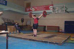 Europos jaunučių sunkiosios atletikos čempionate K. Stonkus liko aštuntas