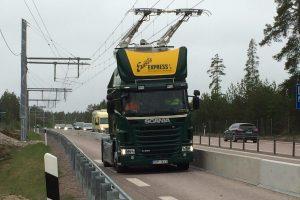 Švedijoje bandoma pirmoji elektrifikuota automagistralė