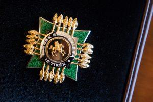 Kunigas M. Danys apdovanotas už Vydūno kūrybos populiarinimą