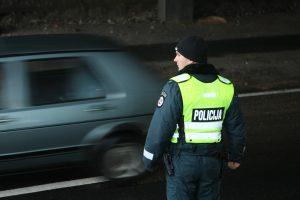 Per Vėlines patruliuos daugiau pareigūnų